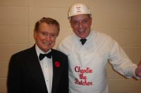 Charlie and Regis Philbin