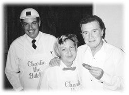 Charlie the Butcher with Regis